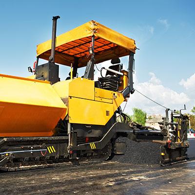 kursy: maszyny do rozkładania asfaltu